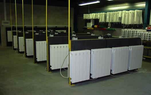 Les tests d'un radiateur Bi jonction Ultratherm France
